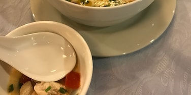 Authentic Thai Food in Lima Tom Kah Gai #TroverFoodies