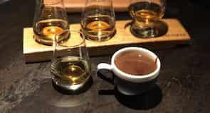 Talisker Distillery whiskylepárló üzem