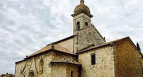 Den kollegiale kirke i San Quirico