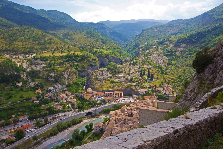 Entrevaux, Alpes-de-Haute-Provence (departement), Frankrijk