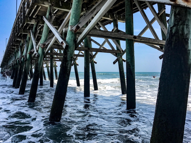Myrtle State Park Beach, Myrtle Beach, South Carolina, United States of America