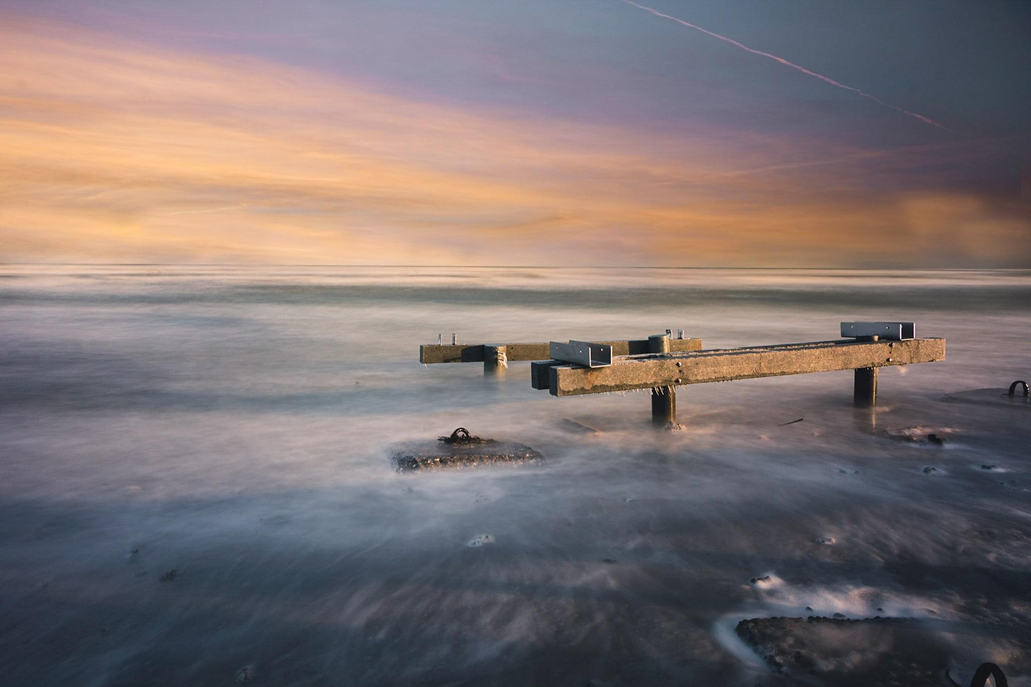 Grenå Strand, Grenaa, Midtjylland, Denemarken
