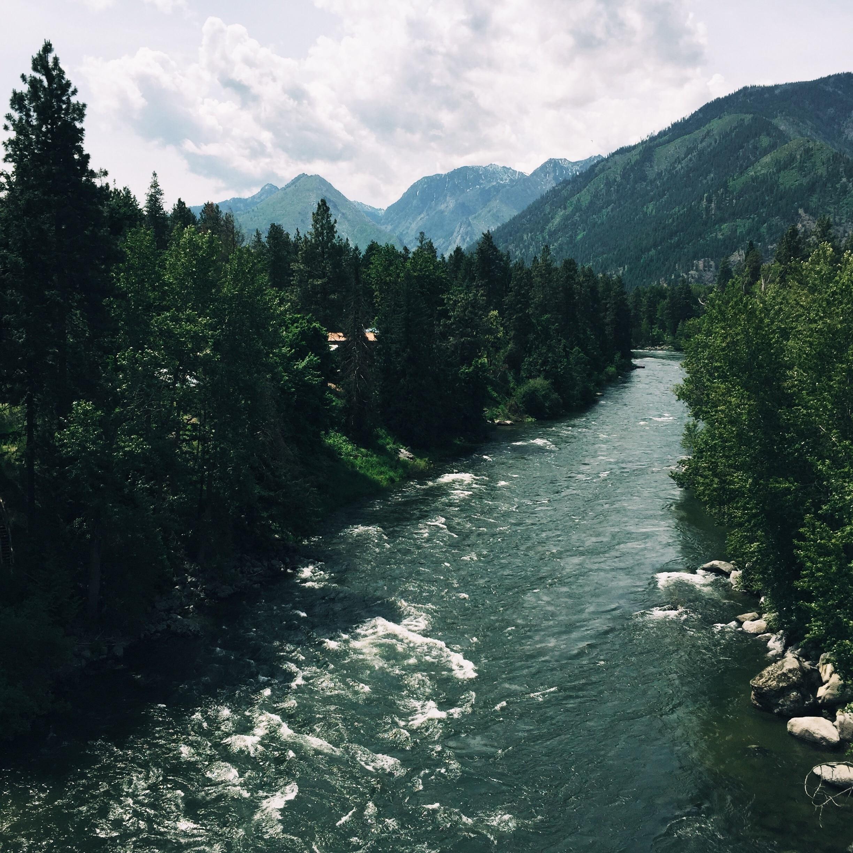 Wenatchee River, Leavenworth, Washington, United States of America