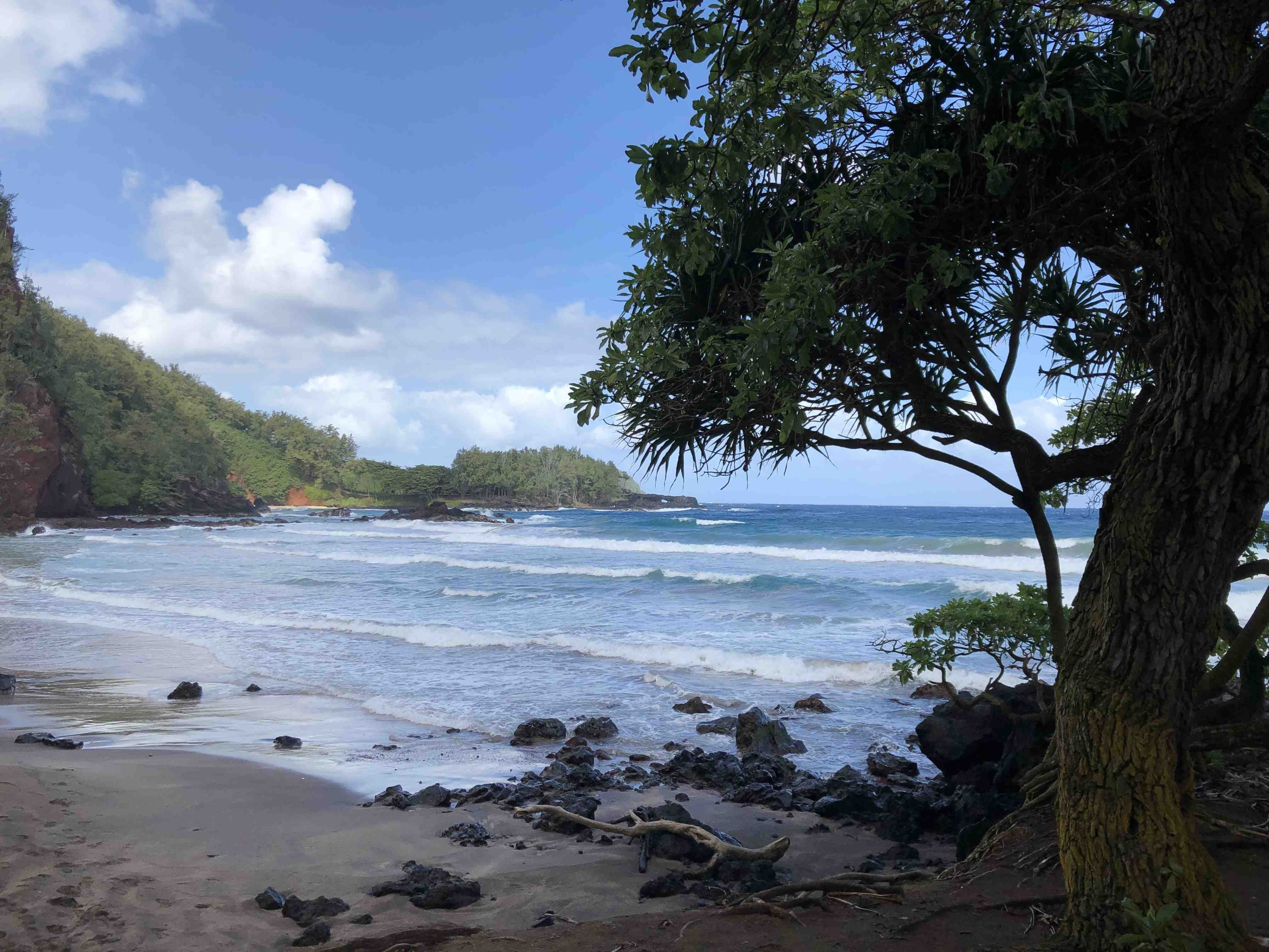 Koki Beach Park, Hāna, Hawaii, USA