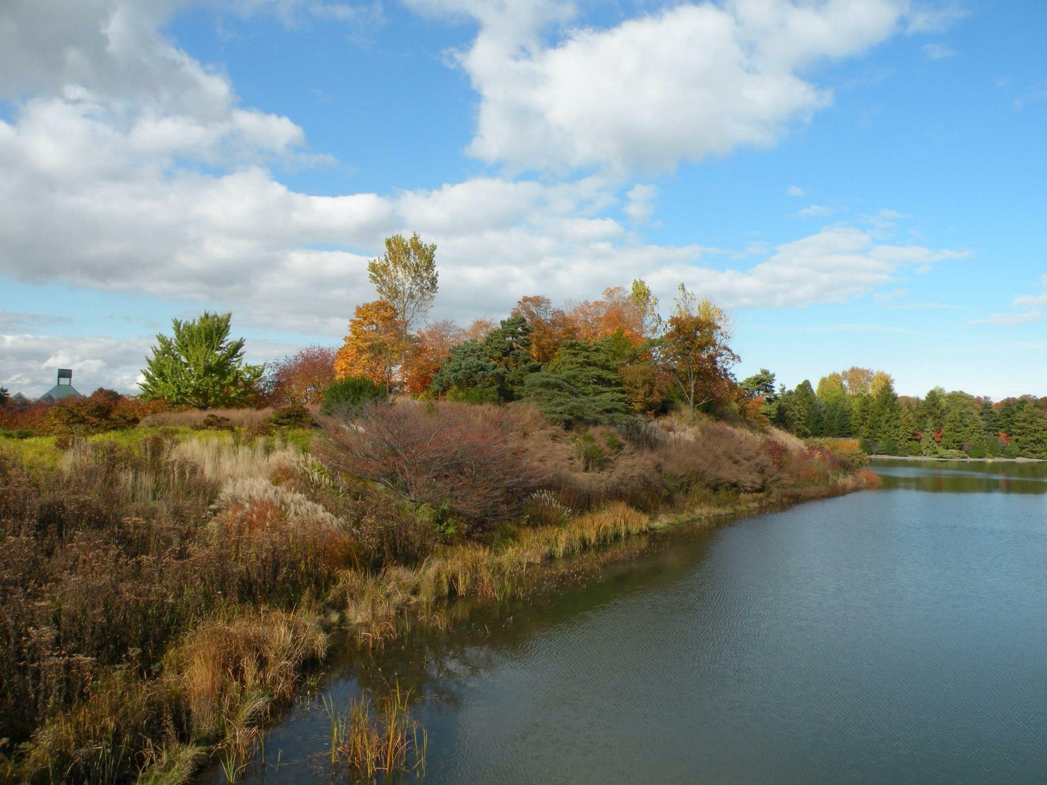 Chicago botaniske hage, Highland Park, Illinois, USA