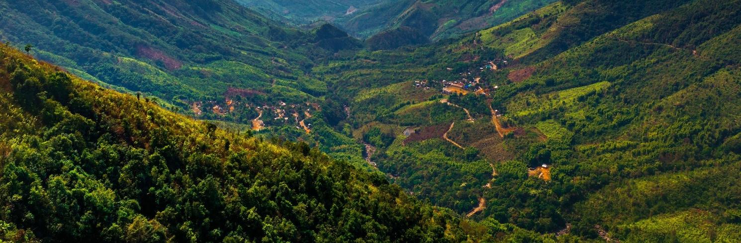Cherrapunji, Indija