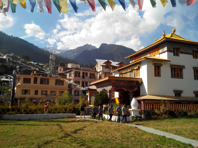 Tibetisches Kloster, Manali, Himachal Pradesh, Indien
