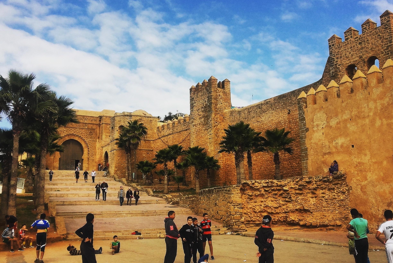 Kasbah des Oudaias, Rabat, Rabat-Salé-Kénitra, Morocco