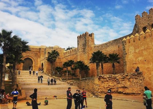 Kasbah des Oudaïas, Marokko