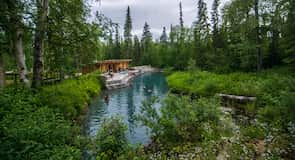Parque Provincial de Liard River Hot Springs