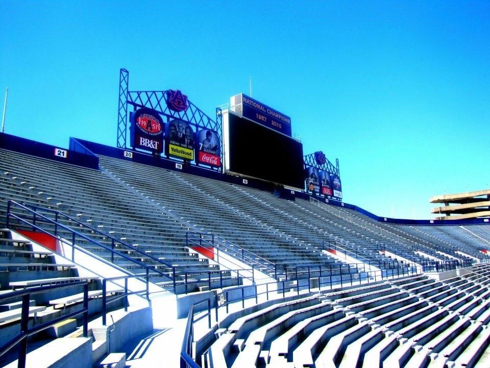 Jordan-Hare-Stadion, Alabama, USA