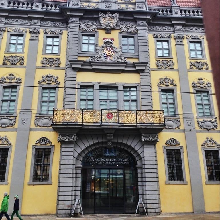 Angermuseum, Erfurt, Thüringen, Deutschland