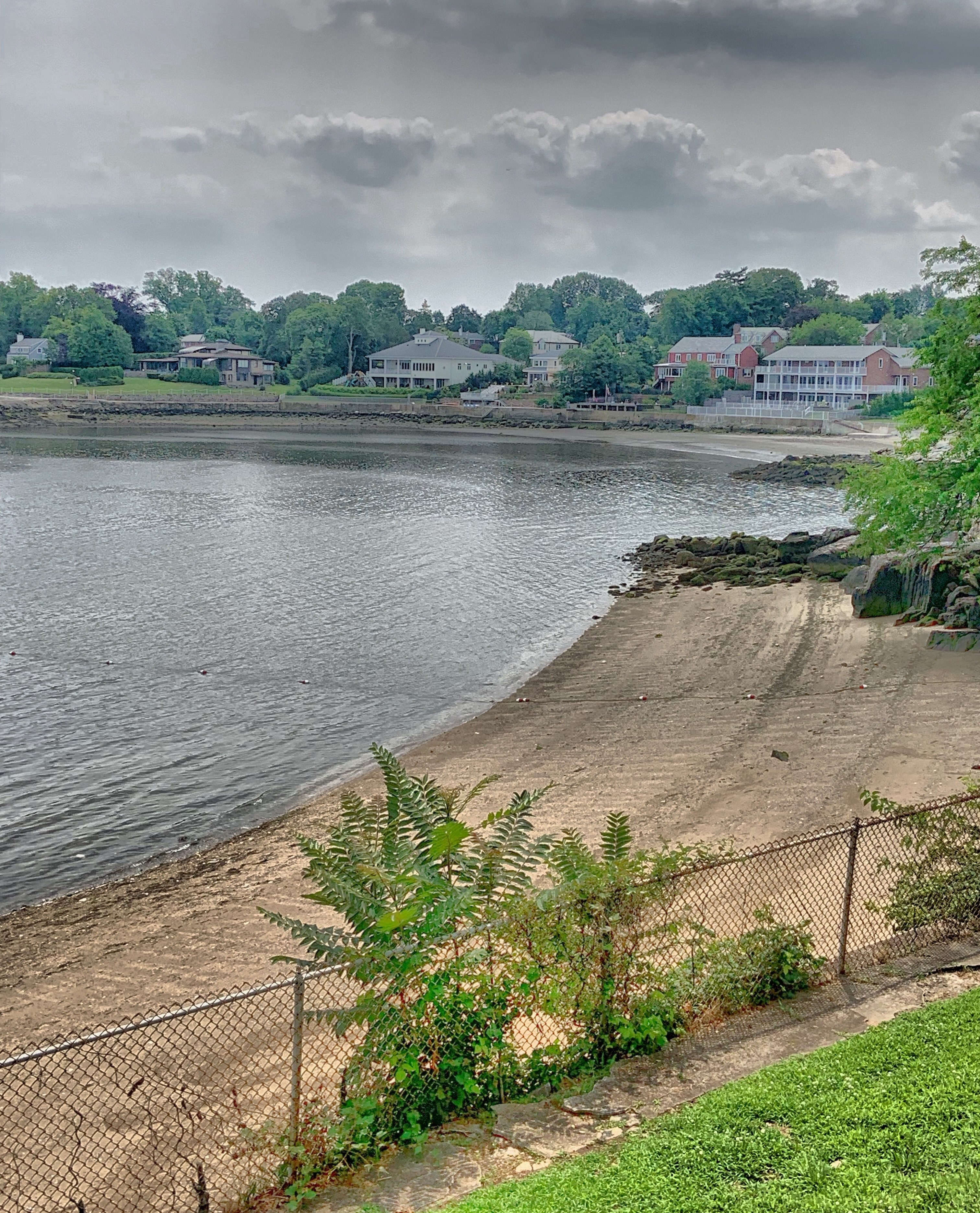 Hudson Park and Beach, New Rochelle, New York, United States of America