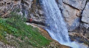 Fanes-Wasserfall