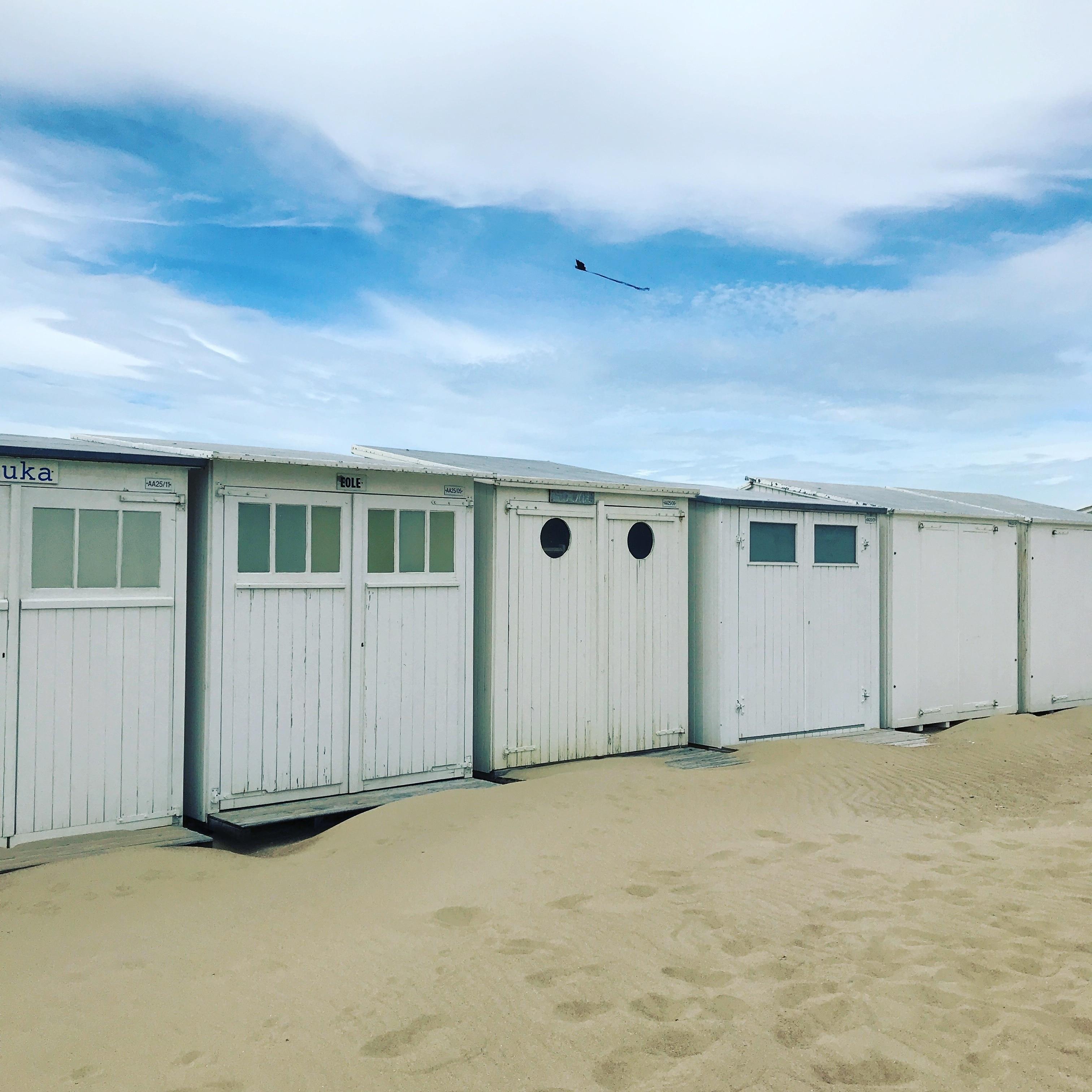 Knokke Heist-stranden, Knokke-Heist, Flandern, Belgien