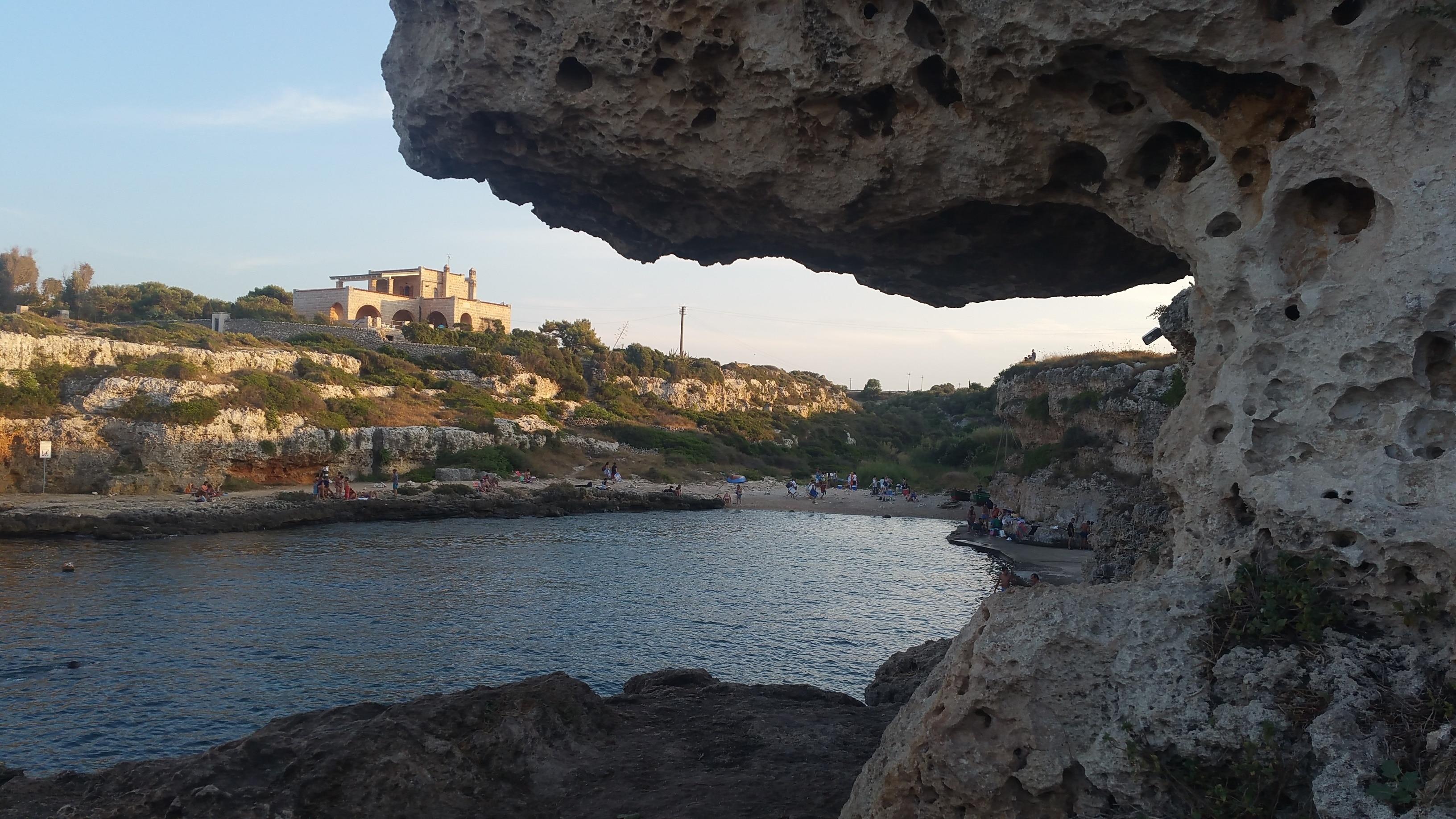 Spiaggia Cala Incina, Polignano a Mare, Puglia, Italy
