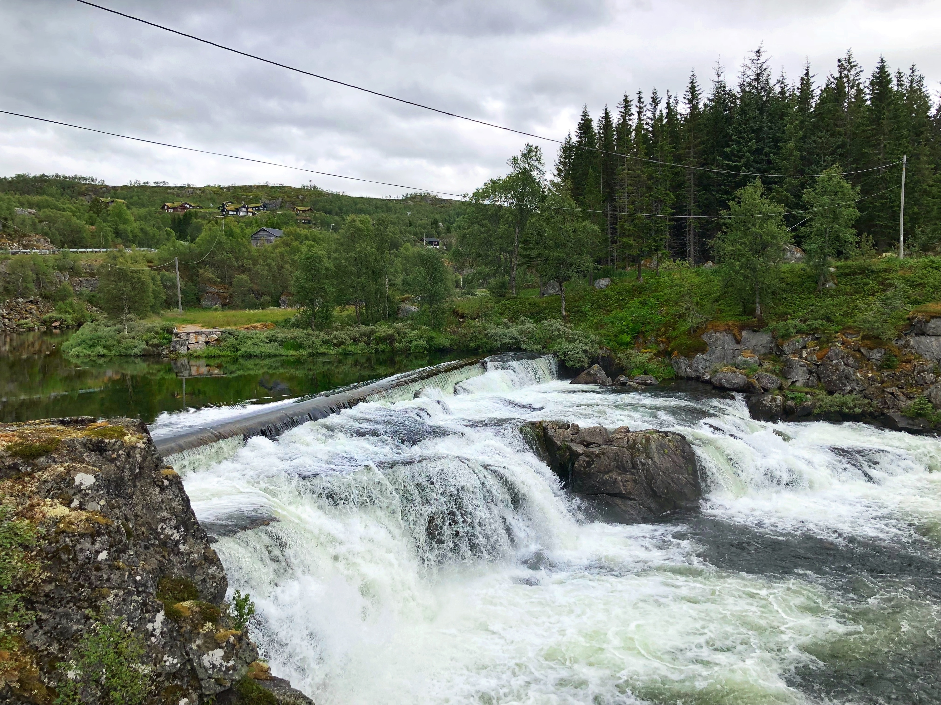 Voringfossen, Eidfjord, Vestland, Norway