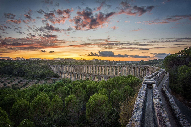 Aqueduto de Pegões, Tomar, Santarem District, Portugal