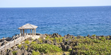 One of the gorgeous ocean-front gazebos in Turtle Crossing community on Roatan.  Talk about a view.