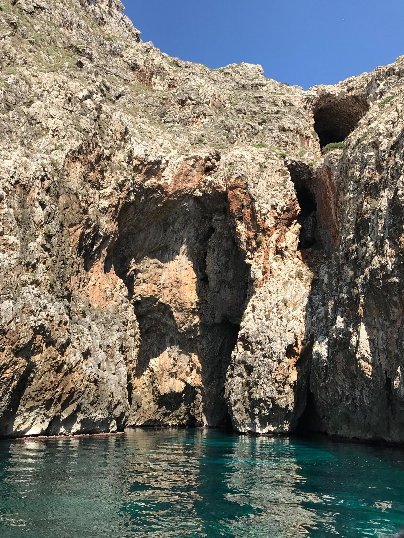 Grotta del Soffio, Castrignano del Capo, Puglia, Italy