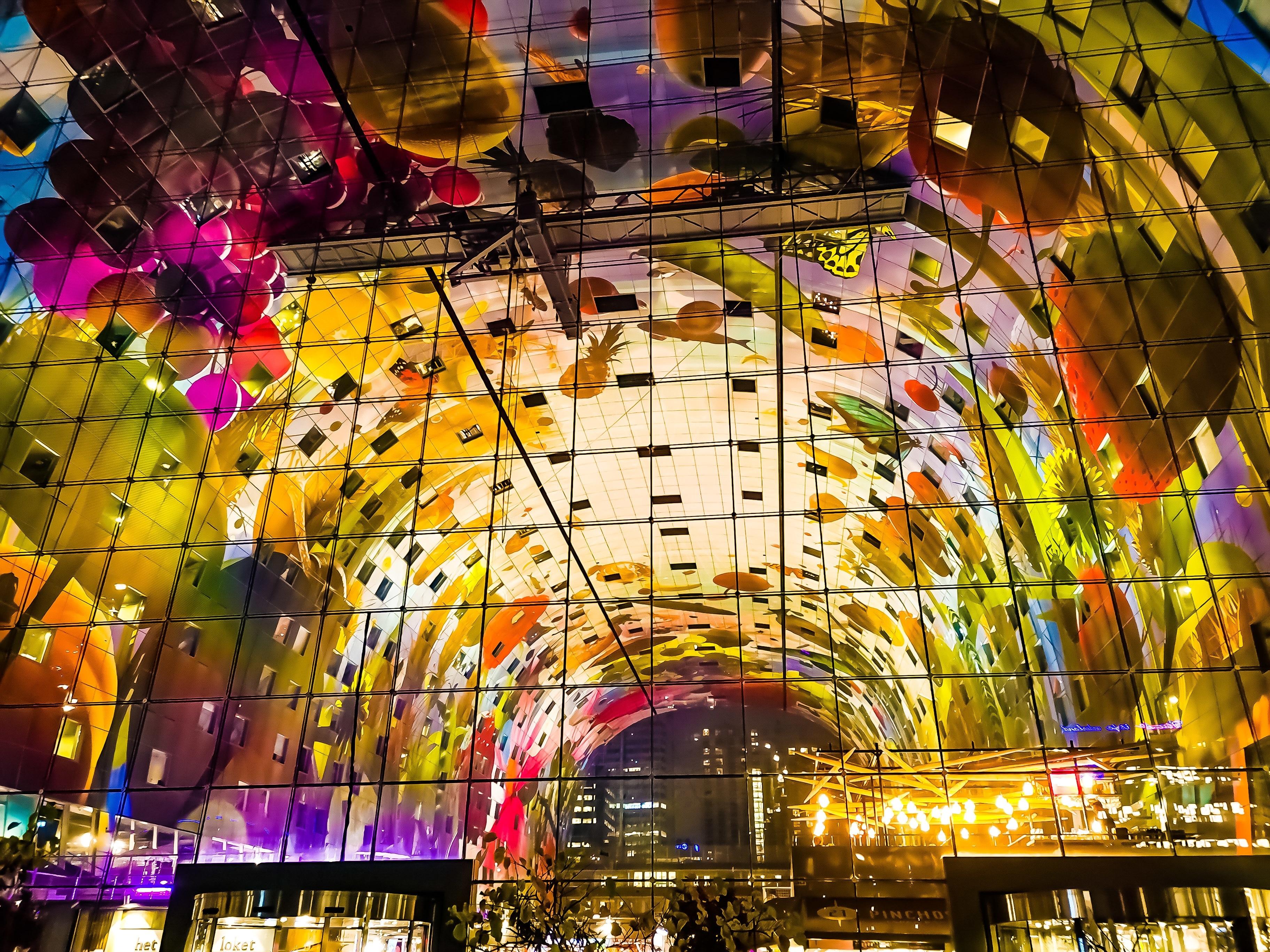Markthal Rotterdam, Rotterdam, Südholland, Niederlande