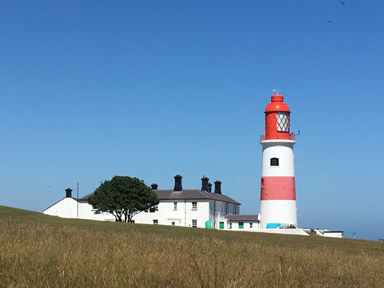 Souter Point Lighthouse, Sunderland, England, United Kingdom