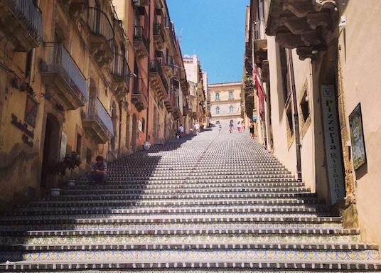 Caltagirone, Italië