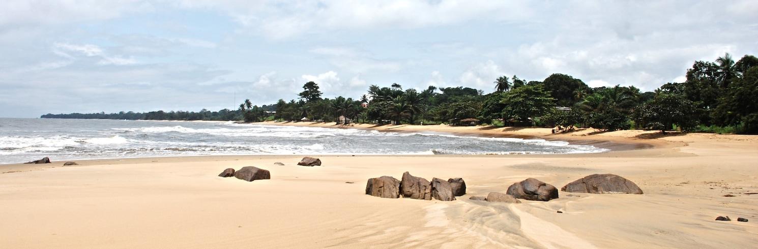Криби, Камерун