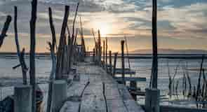 Puerto deportivo de pesca Palafita da Carrasqueira