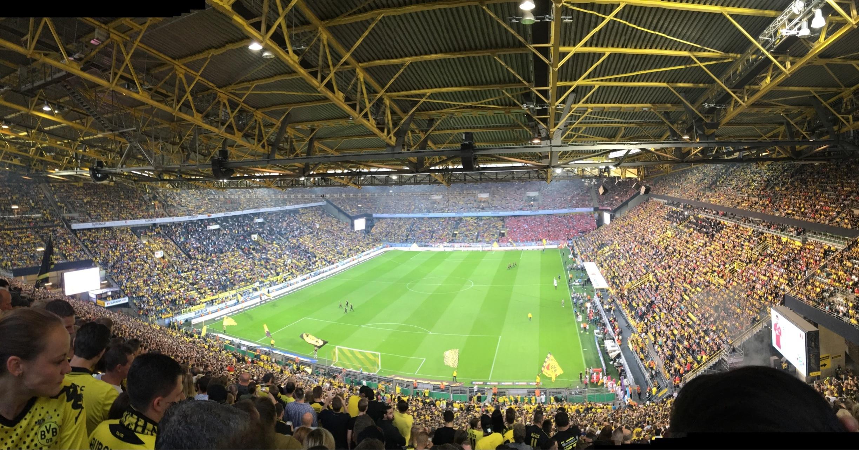 Stade Signal Iduna Park, Dortmund, Rhénanie-du-Nord-Westphalie, Allemagne