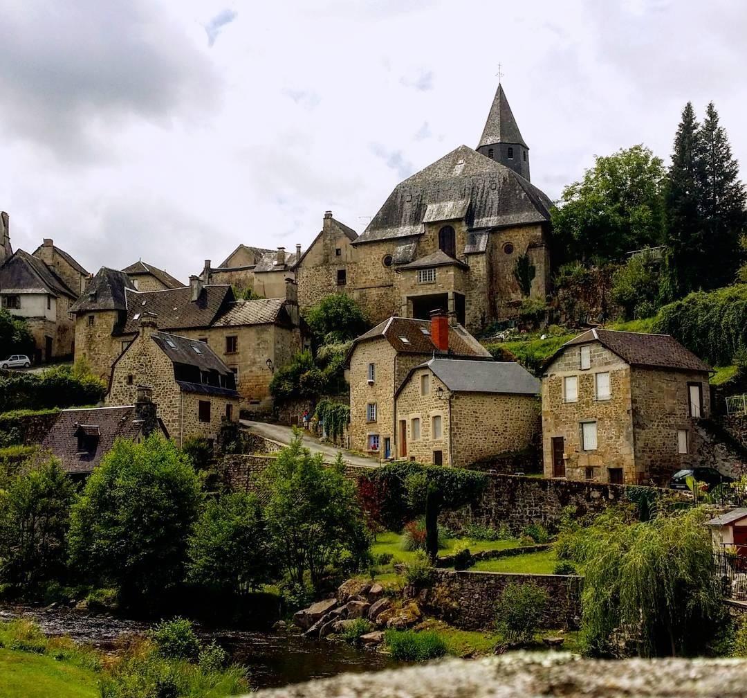 Treignac, Correze, France