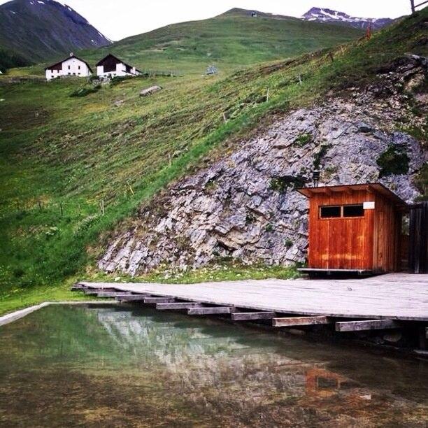 Zuoz, Graubuenden, Switzerland