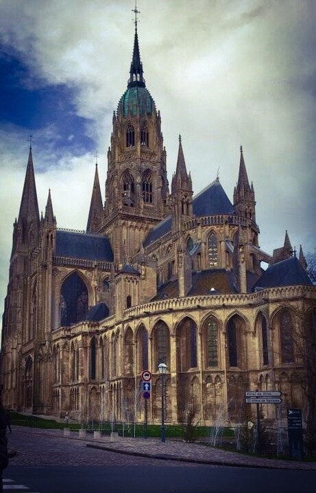 Cathedrale Notre-Dame Bayeux, Bayeux, Calvados, France