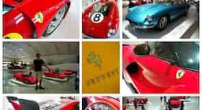 Safnið Museo Enzo Ferrari