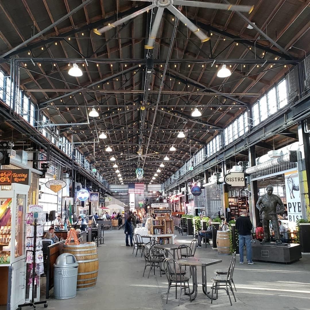 Pybus Public Market, Wenatchee, Washington, USA