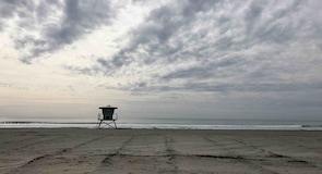 Plage de Oceanside Harbor Beach