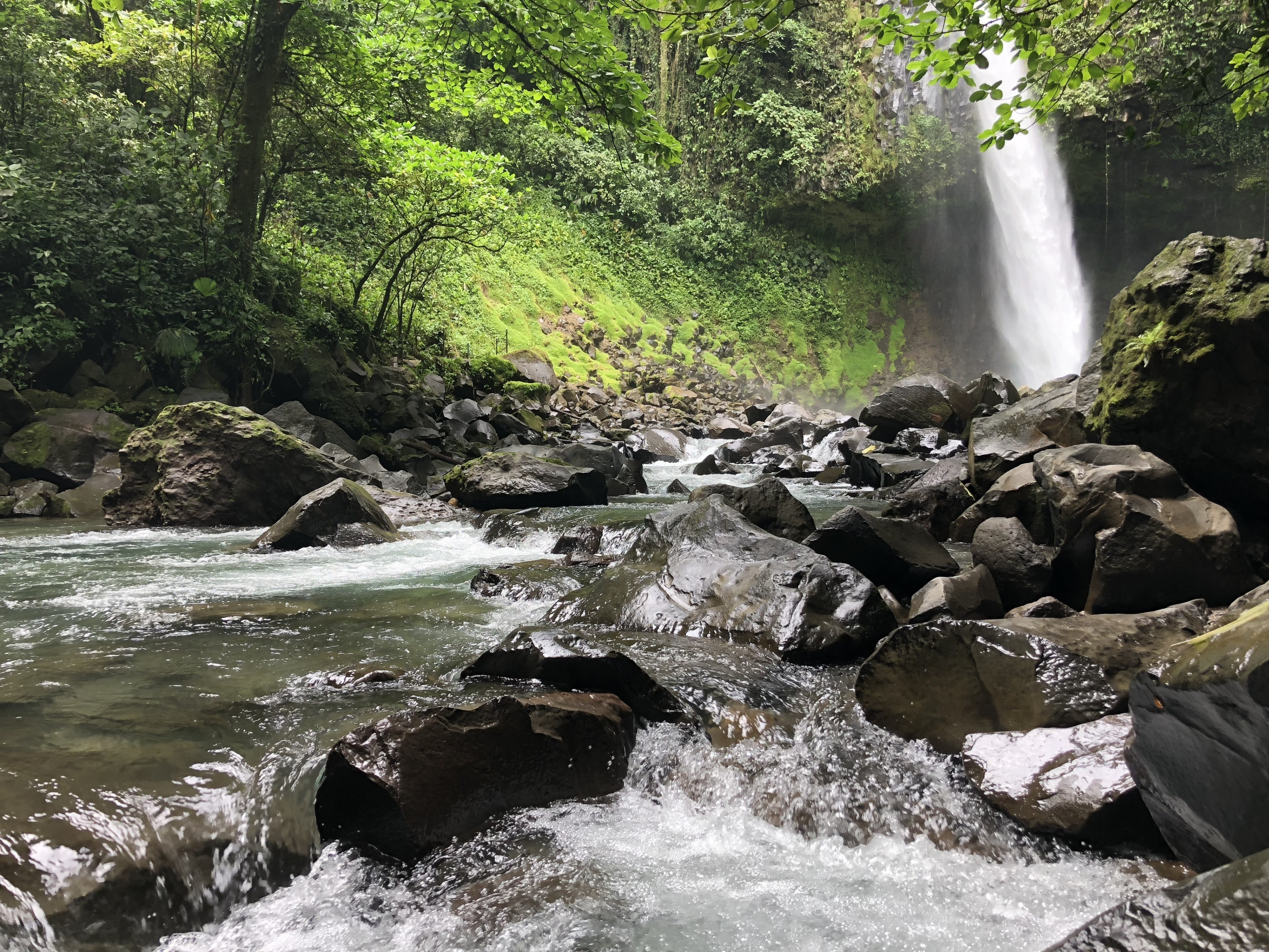 La Fortuna Waterfall, La Fortuna, Alajuela Province, Costa Rica