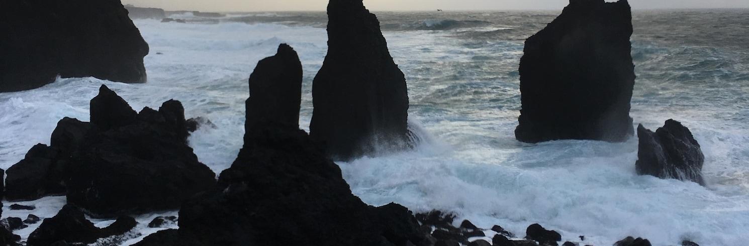 Рейкьянесбайр, Исландия