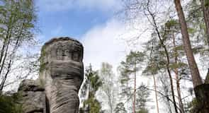 Parque de Montanhas Rochosas de Adrspach-Teplice
