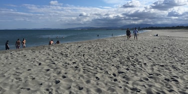 Beach and mountains = best combination