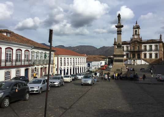 أورو بريتو, البرازيل