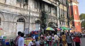 ヤンゴン ダウンタウン