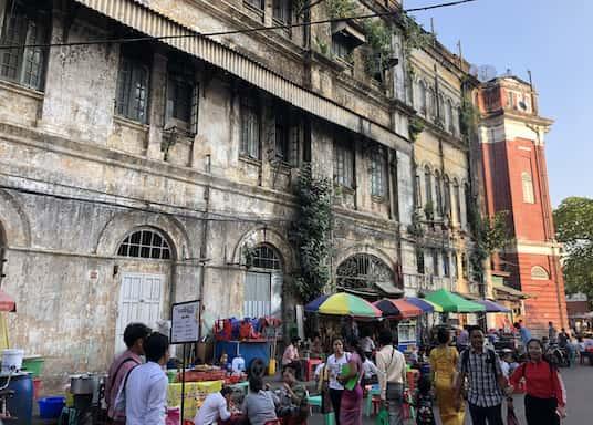 Yangón, Birmania