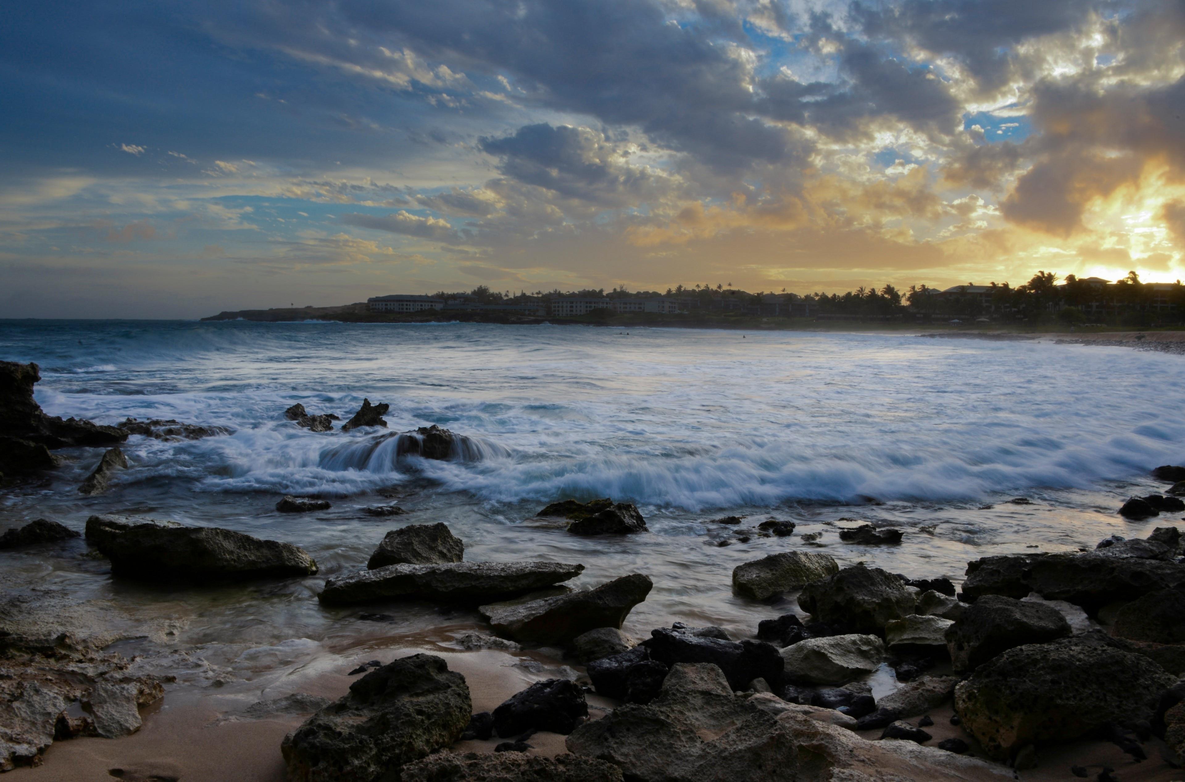 Shipwreck Beach, Koloa, Hawaii, USA