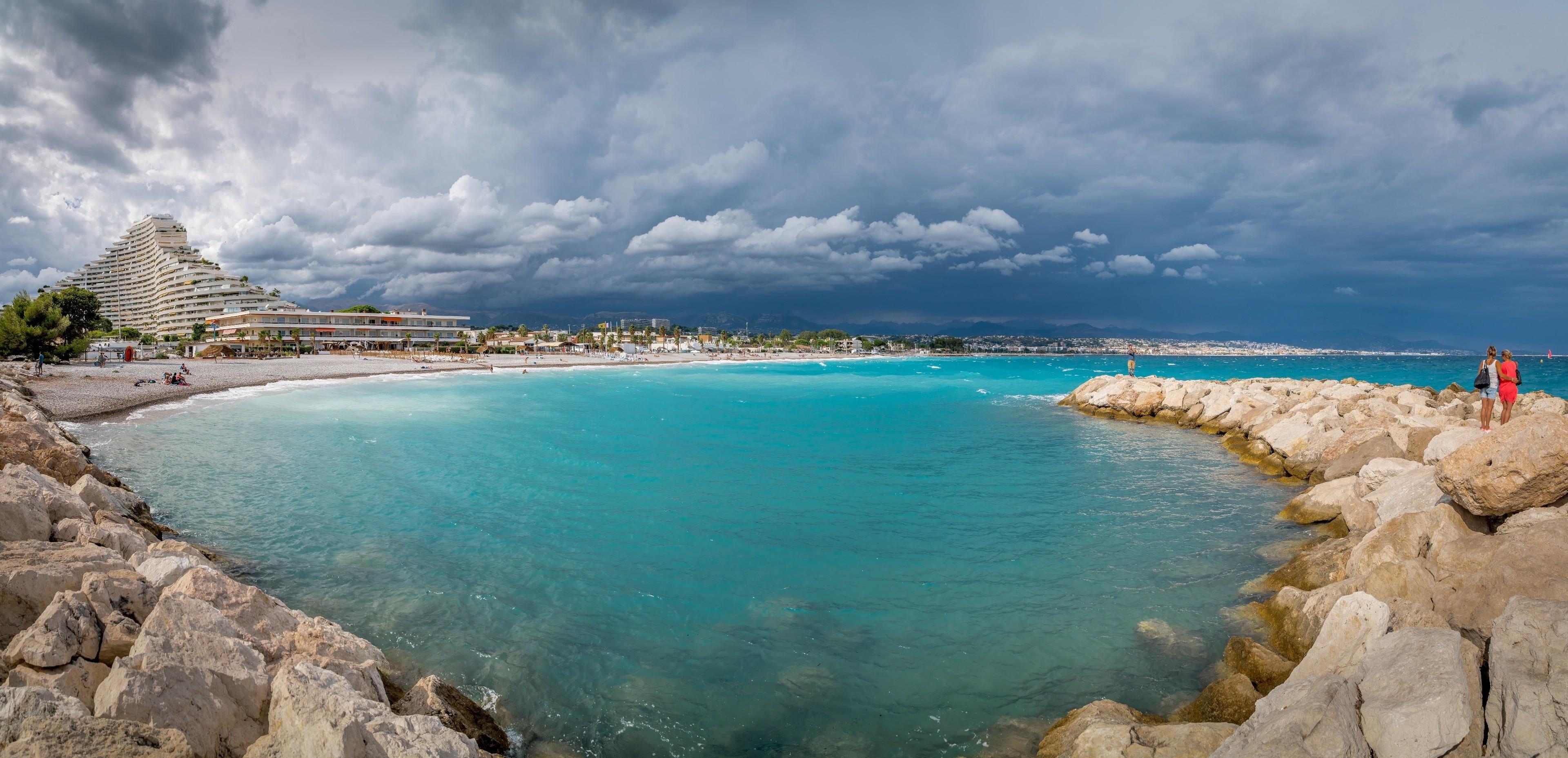 Villeneuve Loubet Beach, Villeneuve-Loubet, Alpes-Maritimes, France