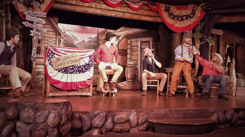 Jackson Hole Playhouse, Jackson, Wyoming, Verenigde Staten