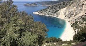 Myrtos paplūdimys