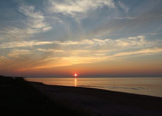 Pláž Brackley Beach, Kanada