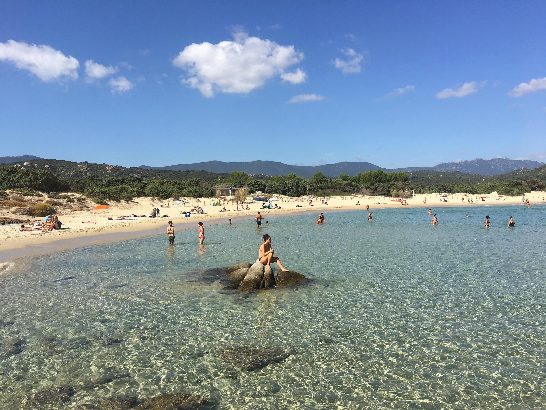 Scoglio di Peppino Beach, Sardinia, Italy