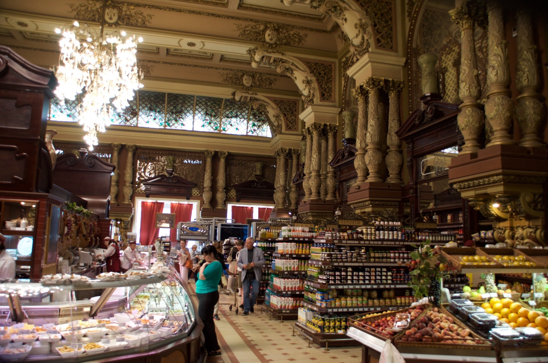 Yeliseyev Grocery Store, Moscow, Russia